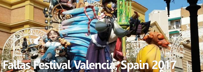 Fallas festival Valencia Spain ESL/EFL teaching